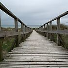 Boardwalk to the beach by LydiaBlonde