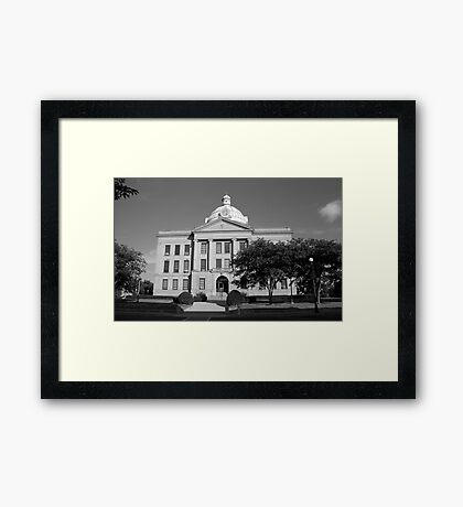 Route 66 - Lincoln, Illinois Framed Print