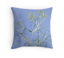 Fennel in the sun Throw Pillow