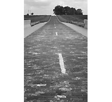 Route 66 - Brick Highway Photographic Print