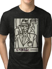 """Drawing: """"Film Noir IV (2014) (Born to Kill)"""" by artcollect Tri-blend T-Shirt"""