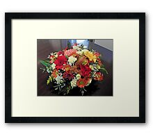 Birthday Flowers Framed Print