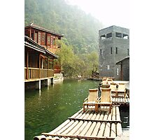 Water Village Photographic Print