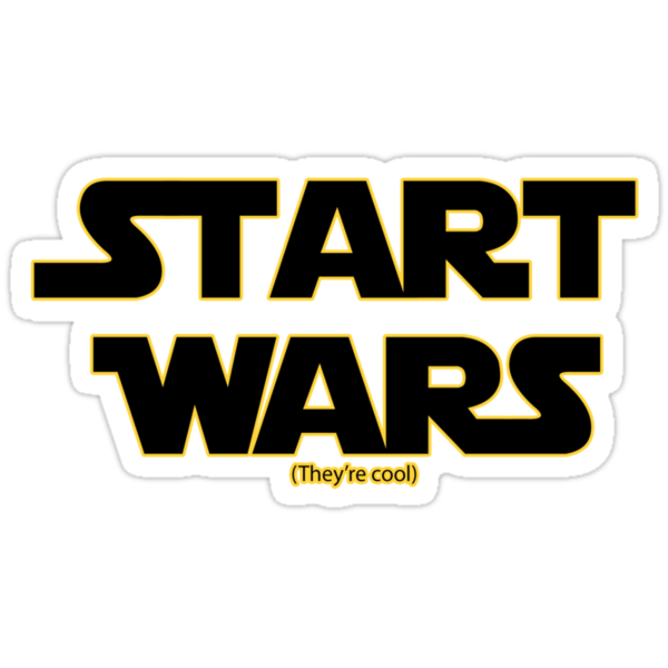 Start Wars (they're cool) Star wars spoof by erndub