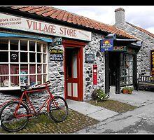 Old village shop by Gordon Holmes