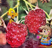 Sweet raspberry for a breakfast  by kindangel