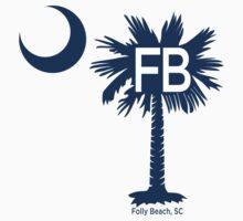 Folly Beach Destination Palmetto Moon by PalmettoTrading