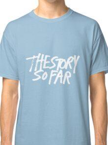 The Story So Far Logo (White on Black) Classic T-Shirt