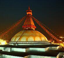 Boudhanath Stupa by prajeet agrawal