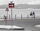 Seaside stroll by awefaul