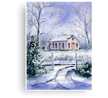 Old Lipscomb Elementary School Canvas Print
