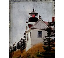 Bass Harbor Lighthouse Photographic Print