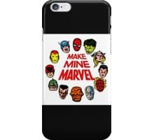 Favorite Comic Book Super Heroes iPhone Case/Skin