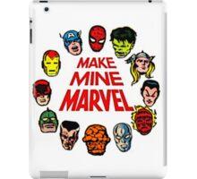 Favorite Comic Book Super Heroes iPad Case/Skin