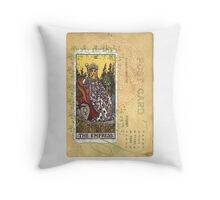 The Empress Tarot Card Fortune Teller Throw Pillow