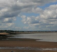 Whitstable Beach towards The Neptune by Touchstone21