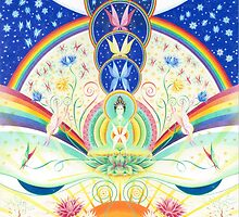 Green Tara - Compassion by Gill Rippingale