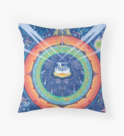 Primordial Purity Throw Pillow