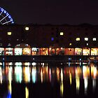 Albert Dock at night by Ben Jones