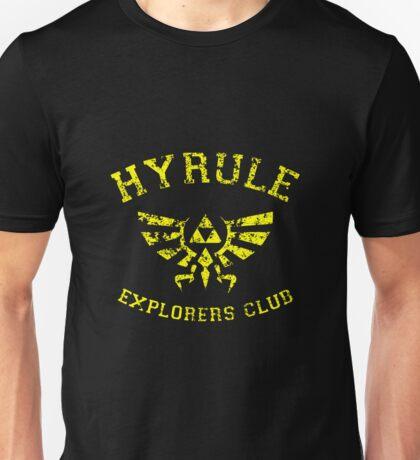 Hyrule Explorers Club Dark Unisex T-Shirt