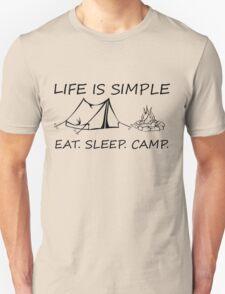 Eat. Sleep. Camp. T-Shirt