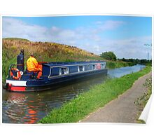 Cruising down the Canal Poster