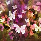 In The Flower Garden are Butterflies and Ground Squirrels  by CarolM