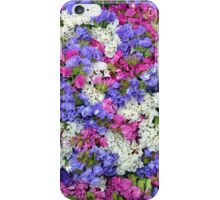 Colorful spring flowers iPhone Case/Skin