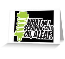 What am I scraping on? 2 Greeting Card