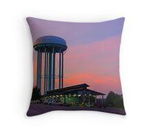 Daybreak at the Market Throw Pillow