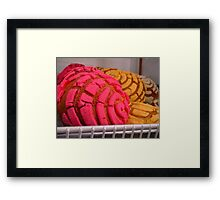 """""""Mexican Bakery Goodies"""" Framed Print"""