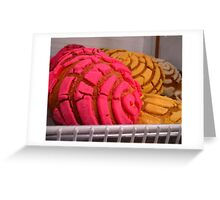 """Mexican Bakery Goodies"" Greeting Card"