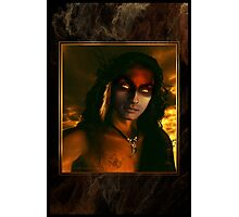 Man Who Rides Two Horses (Half-breed) Photographic Print