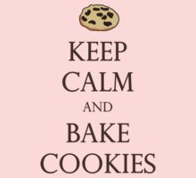 Keep Calm and Bake Cookies Kids Clothes