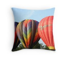 Balloons, Pretty maids all in a row! Throw Pillow