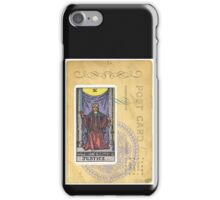 Justice Scales Tarot Card Fortune Teller iPhone Case/Skin