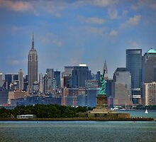 New York From Bay by dbvirago