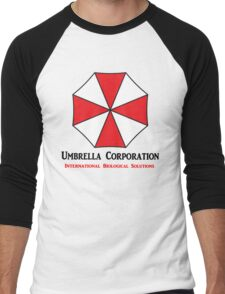 Umbrella Corporation Men's Baseball ¾ T-Shirt