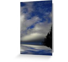 Where Earth Meets Sky ! Greeting Card