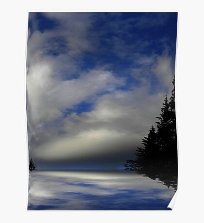 Where Earth Meets Sky ! Poster