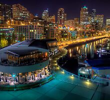 Seattle from Pier 66 by Mari  Wirta