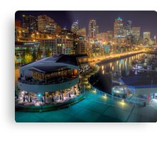 Seattle from Pier 66 Metal Print