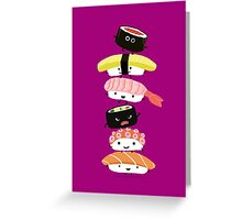 Sushi Stack Greeting Card