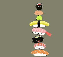 Sushi Stack by Jenn Inashvili