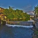 Gristmill On the Little Pigeon (HDR) by Jamie  Armbruster