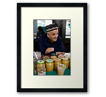 Honey Man Framed Print