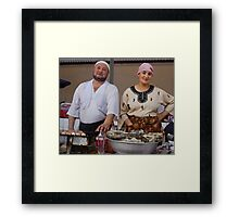 Happy Couple Framed Print