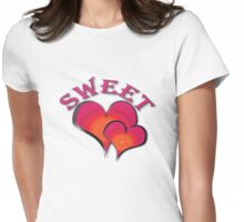 SweetHeart Womens Fitted T-Shirt