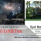 Syd Baker, Solo Exhibition Banner by solo-exhibition