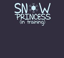 Snow princess in training Womens Fitted T-Shirt